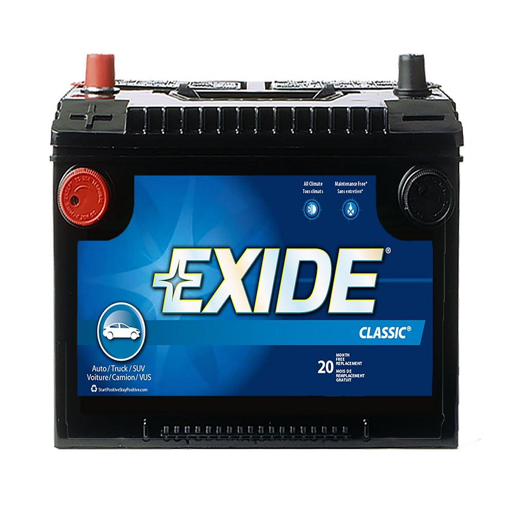 Exide Classic Automotive Battery - Group 78dt