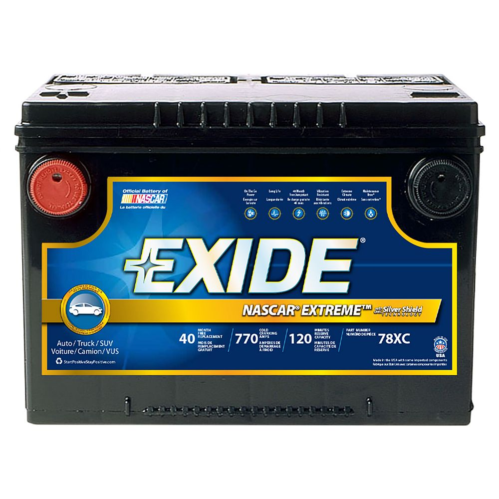 Exide Exide Extreme Gr 78
