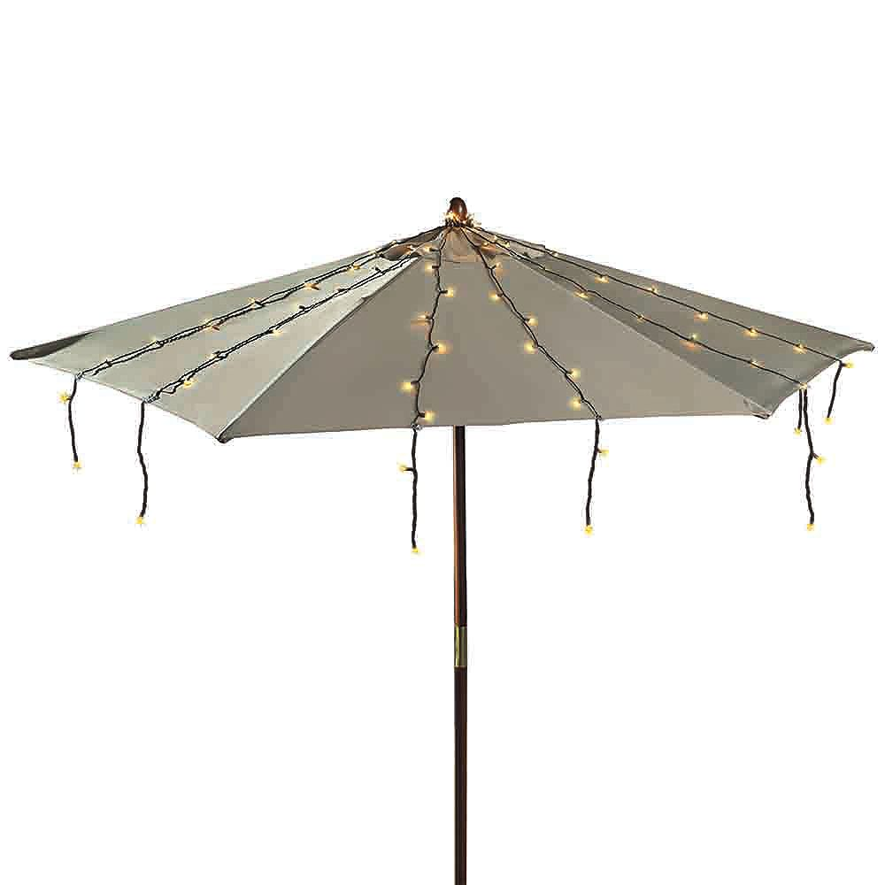 Hdg Umbrella String Lights 150l The Home Depot Canada