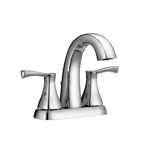 Glacier Bay Jaci 2-Handle 4-inch Centerset Bath Faucet in Chrome