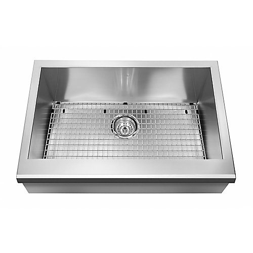 20 Gauge SS hand fabricated kitchen farmhouse sink