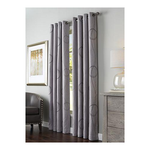 Panneau à œillets, gris, 54 x 108