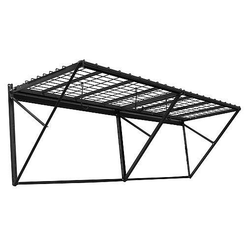 ProRack 96-inch x 28-inch Heavy Duty Wall Mount Storage Shelf