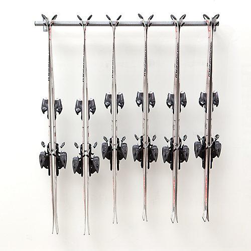 Support de rangement pour skis, 6 paires