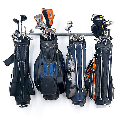 grand ensemble de rangement pour sac de golf