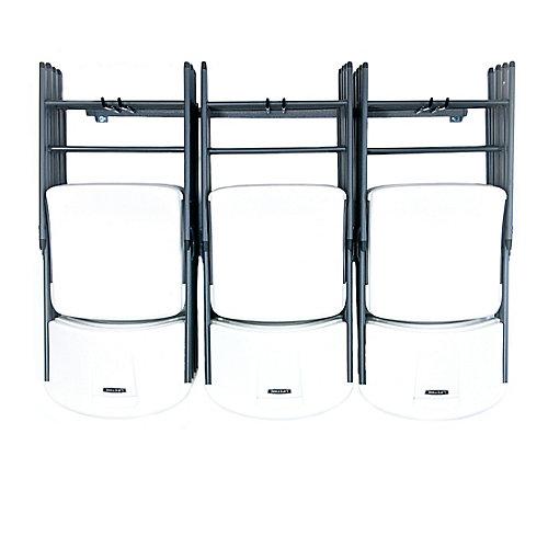 grand ensemble de rangement pour chaise pliantes