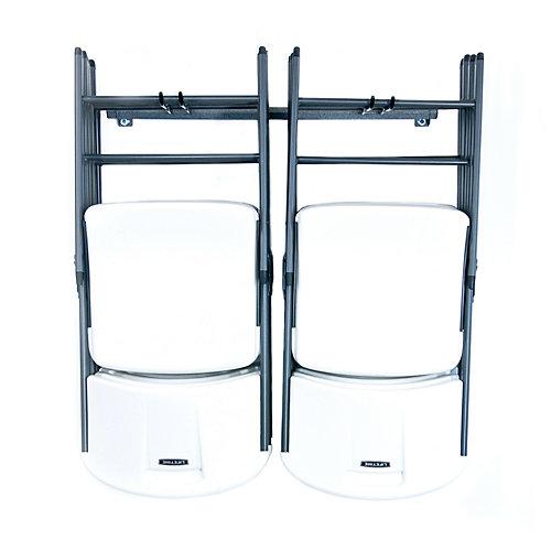 Support de rangement pour chaises pliantes, petit