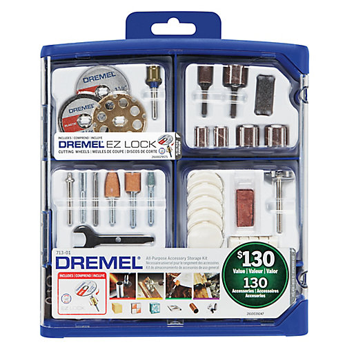130-Piece All-Purpose Accessory Kit