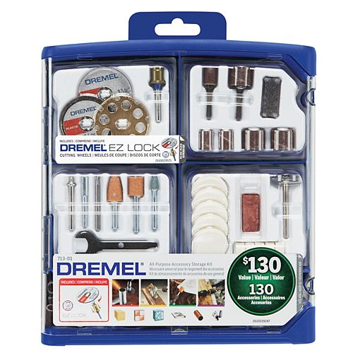 Dremel 130-Piece All-Purpose Accessory Kit