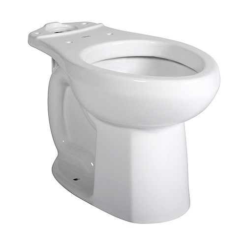 Cadet Pro Single-Flush Round Bowl Toilet Bowl Only in White