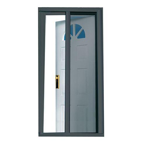 81.5-inch Charcoal Retractable Screen Door (Standard Doors 79-inches to 80.5-inches)