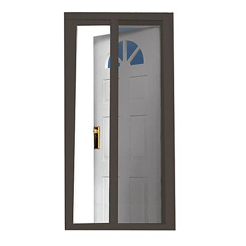 97.5-inch Brown Retractable Screen Door (Doors 95-inches to 96.5-inches)