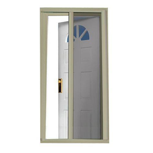 81.5-inch Sandstone Retractable Screen Door (Standard Doors 79-inches to 80.5-inches)