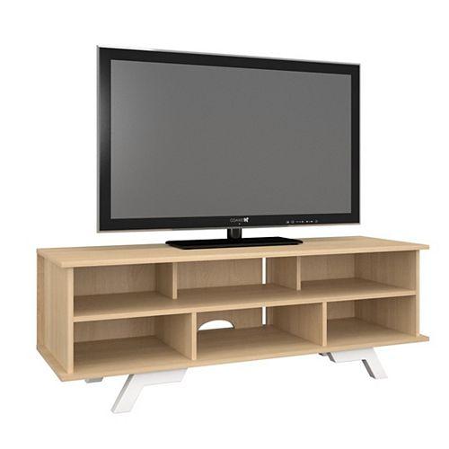 Stiletto 54-inch x 19-inch x 18-inch TV Stand in Maple
