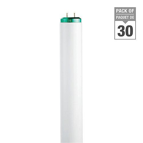 Philips 40W T12 48-inch Soft White Fluorescent Light Bulb (30-Pack)