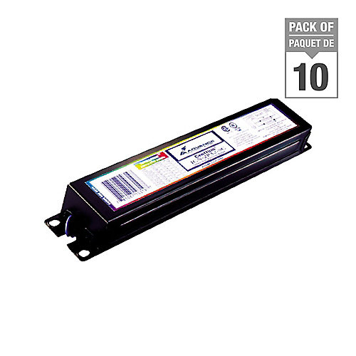 "Fluorescent Ballast 2 Lamp 48"" 34W or 40W T12 120V - Case of 10 Ballasts"
