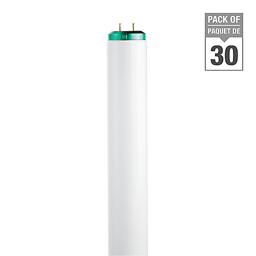 40W Cool White Supreme 48 inch T12 Fluorescent Light Bulb (30-pack)