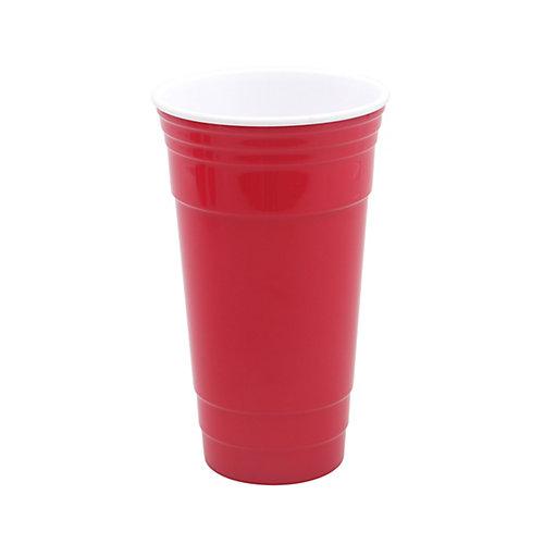 Tasse de fête GEN, 32 oz, rouge