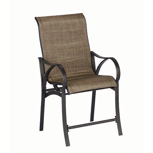 Hampton Bay Valley StreamEnsemble de 2 chaises hautes bistro