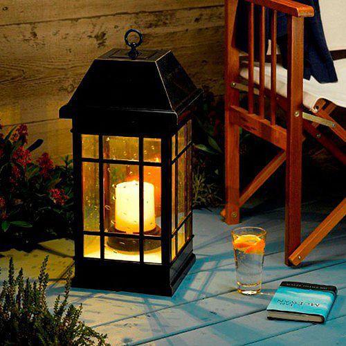 San Rafael Estate Mission Solar Candle Lantern