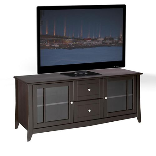 Elegance 58-inch x 24.5-inch x 21-inch TV Stand in Espresso