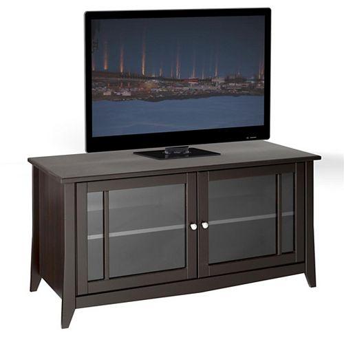 Elegance 49-inch x 24.5-inch x 21-inch TV Stand in Espresso