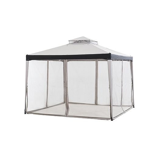 Chatham 10 ft. x 10 ft. Gazebo in Grey