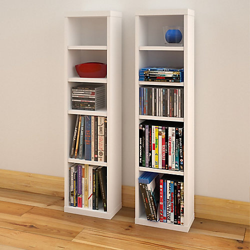 Liber-T CD/DVD Towers (Set of 2)