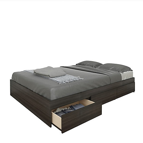 Allure Full Size 3-Drawer Storage Bed from