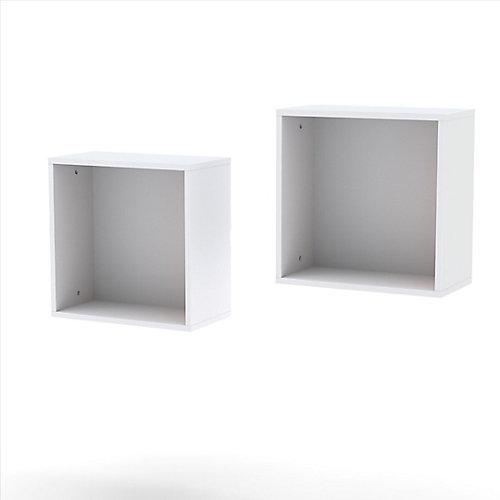 Cubes muraux (2) Blvd de Nexera