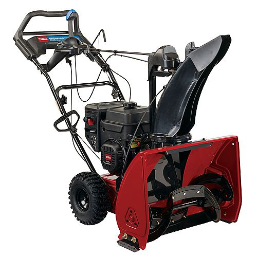 SnowMaster 824 QXE 24-inch 252cc Single-Stage Gas Snow Blower