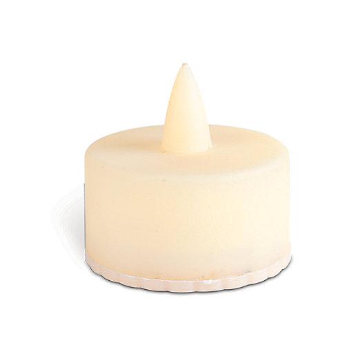 Paquet de 4 bougies chauffe-plat à DEL d'intérieur / extérieur