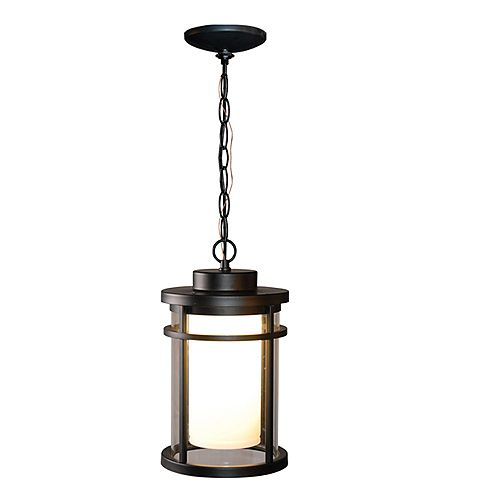 Home Decorators Collection Black Outdoor LED Hanging Light