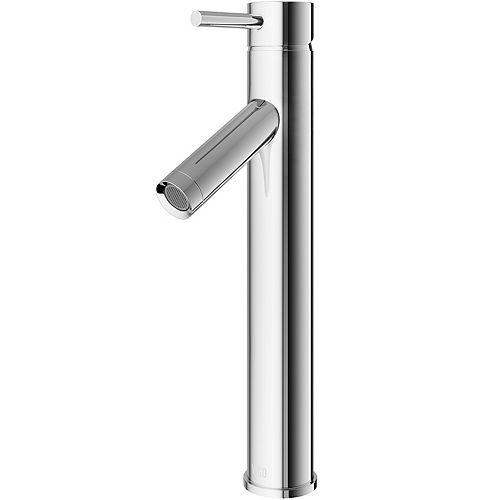 VIGO Dior Single Hole Single-Handle Vessel Bathroom Faucet in Chrome