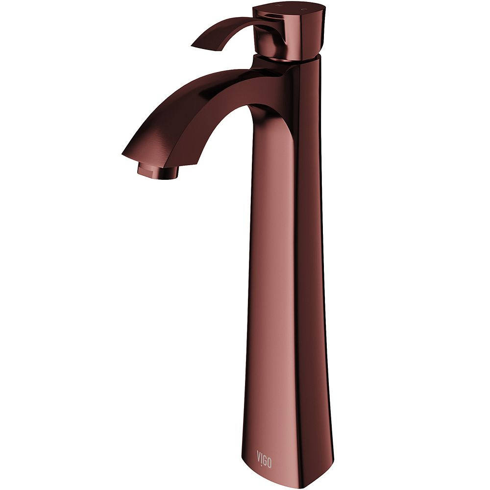 VIGO Otis Single Hole Single-Handle Vessel Bathroom Faucet in Oil Rubbed Bronze