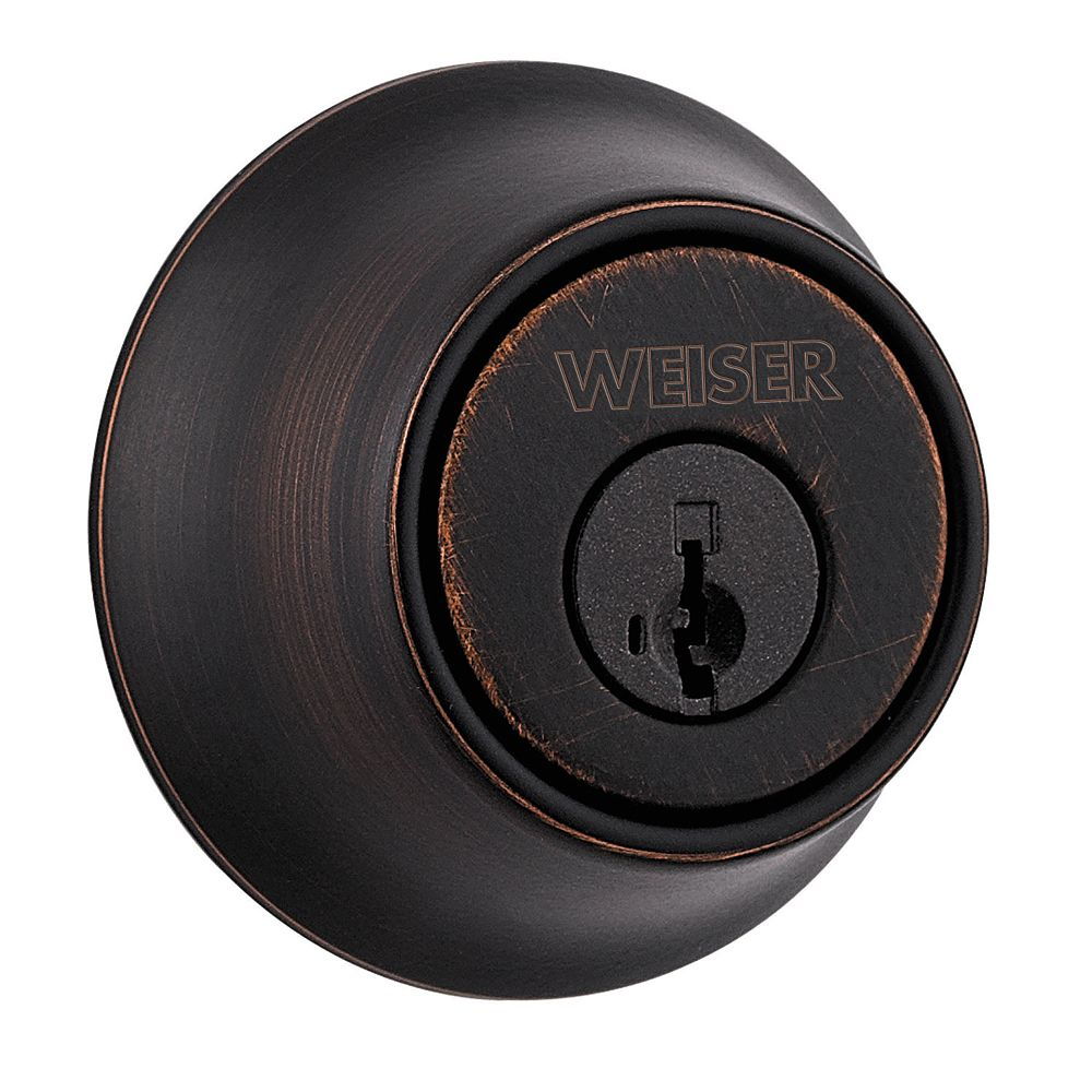 Weiser Elements Venetian Bronze Deadbolt