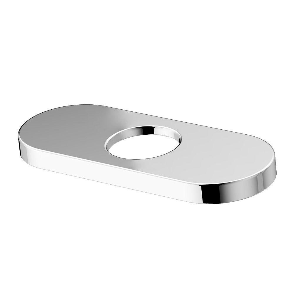 VIGO 5.5 in. Deck Plate in Chrome