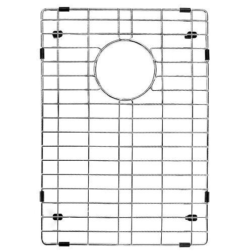 VIGO 18 in. x 13 in. Kitchen Sink Bottom Grid in Stainless Steel