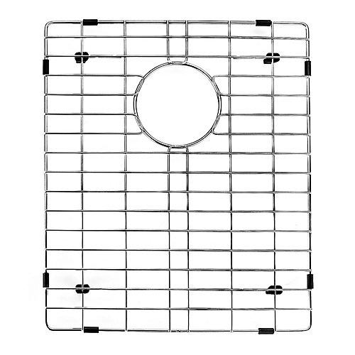 Grille de fond pour évier de cuisine  de 14 1/8 po x 16 3/4 po