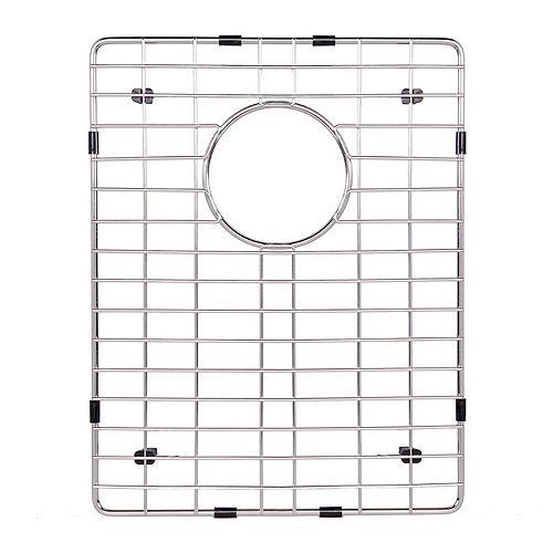 Grille de fond d'évier de 16,125 po x 12,625 po. Grille de fond d'évier de cuisine