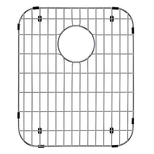 Grille de fond d'évier de 13,5 po x 16,5 po Grille de fond d'évier de cuisine