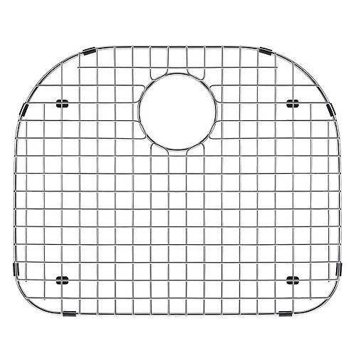 19 po x 17 po Grille de fond d'évier en acier inoxydable