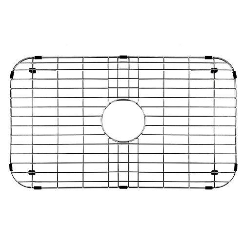 Grille de fond d'évier de 26 po x 14,375 po Grille de fond d'évier de cuisine