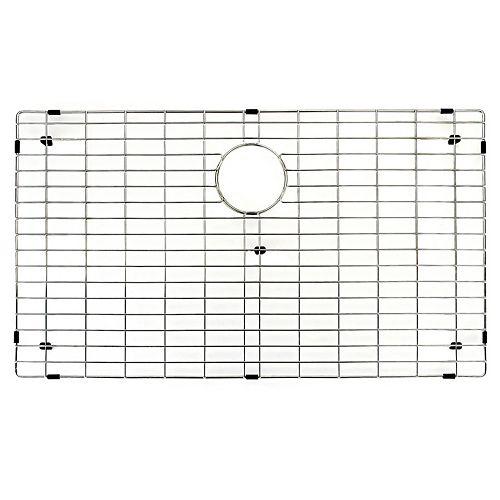 Grille de fond d'évier de cuisine de 31 po x 18 po Grille de fond d'évier de cuisine en acier inoxydable