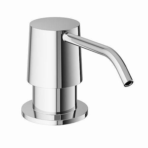 10 oz. Kitchen Soap Dispenser in Chrome