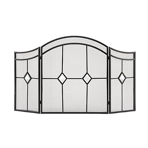Diamond Fireplace Screen