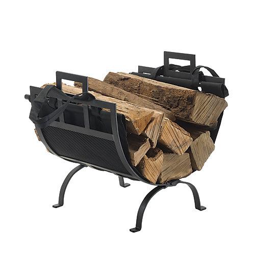 Log Holder/Canvas Tote