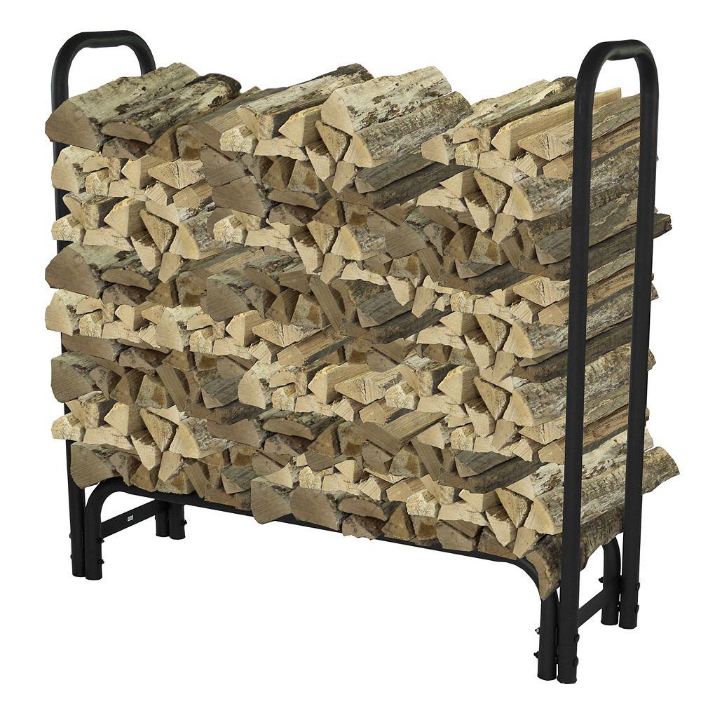 Pleasant Hearth 4 ft. Heavy Duty Firewood Rack