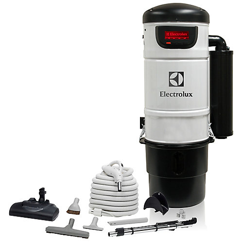600 Air Watt LCD Central Vacuum with Superior Carpet Cleaning Set