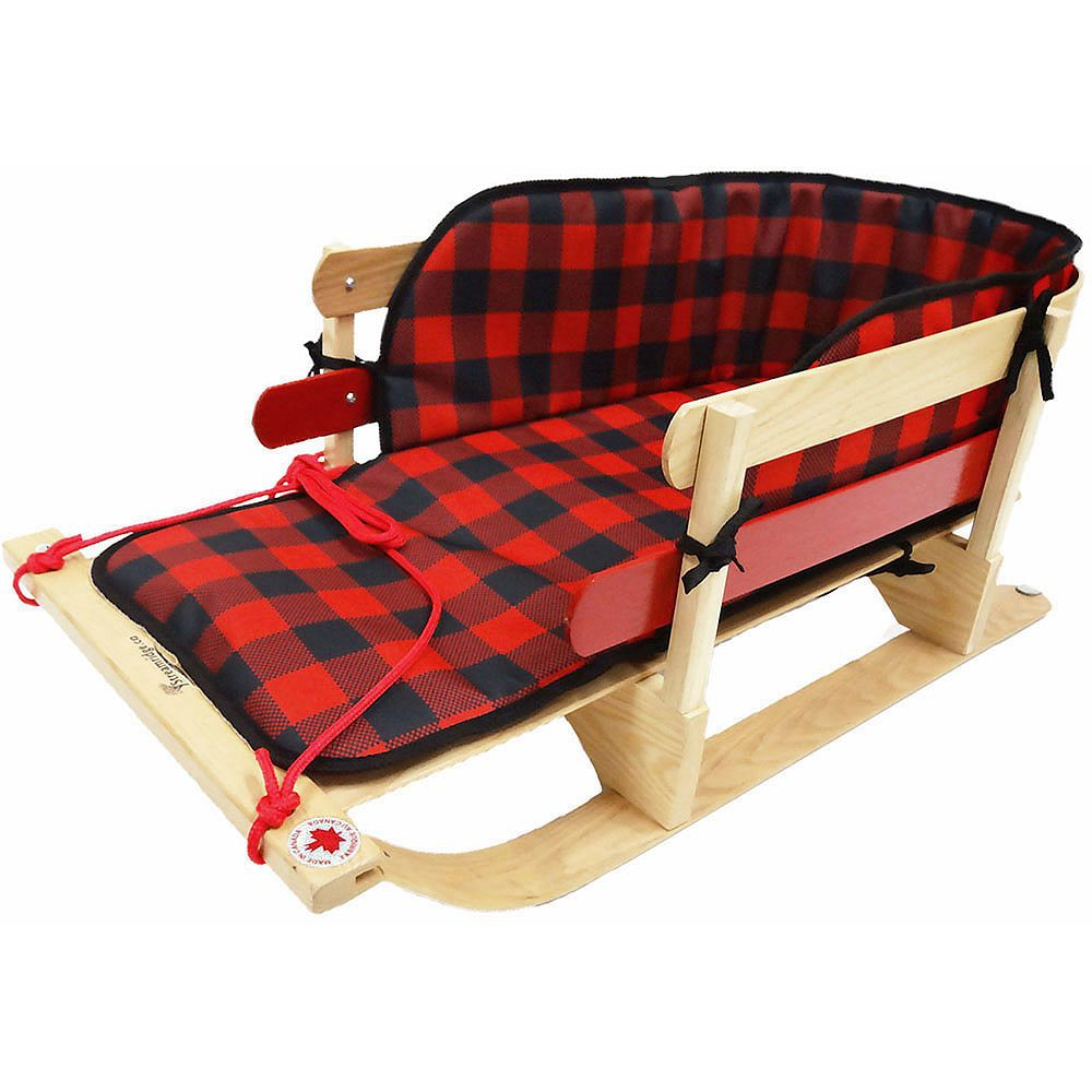 Streamridge Grizzly XL Solid Wood Sleigh